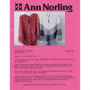 Ann Norling Knitting Patterns Ponchos Top-Down #62