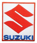 SUZUKI Motorcycles Supercross Racing Bikes Label Shirt Patches