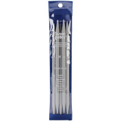 "Quicksilver Double Point Knitting Needles 7"" 5/Pkg-Size 7mm"