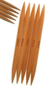 Size #13 9.0mm 8 Inch Double Point StitchBerry Brand Bamboo Knitting Needles