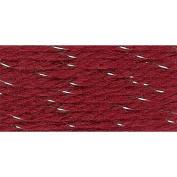 Herrschners Worsted 8 Holiday Sparkle Yarn - Garnet