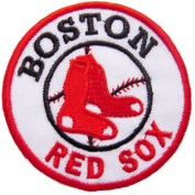 MLB Boston Red Sox iron-on patch
