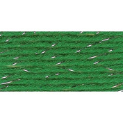 Herrschners Worsted 8 Holiday Sparkle Yarn - Emerald