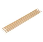 Ostart 5 Pcs of 8'' (20cm) Double Point Bamboo Crochet Knitting Needles Set Kit - 10.0mm