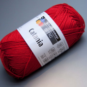 Catania 100% cotton Red #115