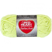 Red Heart Reflective Yarn-Neon Yellow