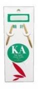 KA Classic Bamboo Circular Knitting Needle, 12 Inch Size 1