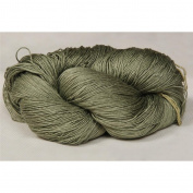 100% Mulberry Queen Silk Yarn 50 Gramme 3 Ply Lace Weight Sage Forest Floor QS013 Lot B