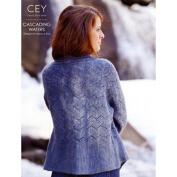 Classic Elite Pattern Book 9186 Cascading Waters Alpaca Sox Yarn