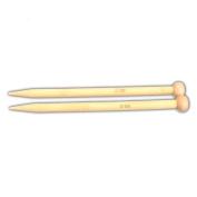 Ostart 18 Sizes 5'' (13cm) Single Pointed Bamboo Knitting Needles Set Kit