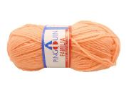 Peach Pingouin Familia 100% Acrylic Baby Yarn for Crochet & Knitting. 3ply