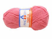 Rose Pink Pingouin Familia 100% Acrylic Baby Yarn for Crochet & Knitting