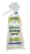 Trait-tex 3-Ply Roving Yarn Skein, White, 150 Yards