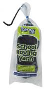 Trait-tex 3-Ply School Roving Yarn Skein, Black, 150 Yards