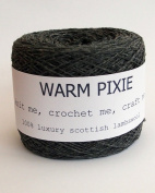Luxury 100% Soft Scottish Lambswool - Charcoal - For Hand & Machine Knitting, Crochet and Crafting.