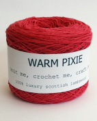 Luxury 100% Soft Scottish Lambswool - Dark Pink - For Hand & Machine Knitting, Crochet and Crafting.