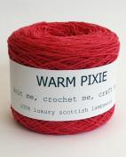 Luxury 100% Soft Scottish Lambswool - Dark Pink - For Hand & Machine Knitting, Crochet and Crafting.