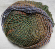 Knitting Fever Painted Sky Superwash Merino Yarn Self Striping Colour 212 Olive, Brick