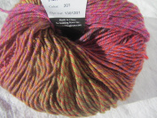 Knitting Fever Painted Sky Superwash Yarn Self Striping Colour 201 Amber