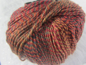 Knitting Fever Painted Sky Superwash Yarn Self Striping Colour 202 Brick