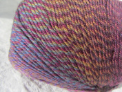 Knitting Fever Painted Sky Superwash Yarn Self Striping Colour 205 Wine, Violet