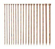 Knit Picks Rainbow Wood Straight 25cm Knitting Needle Set