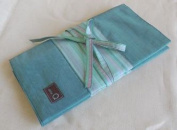 Della Q Double Point and Circular Needle Case 1136-1 - Seafoam