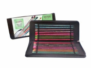 Knitter-s Pride Single Pointed Needle Set, Dreamz Symfonie 14 in / 35 cm