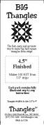 BIG Thangles 11cm Finished