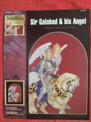 Sir Galahad & His Angel Counted Cross Stitch Chart