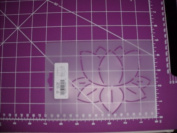 Lily Pad Quilting Stencil