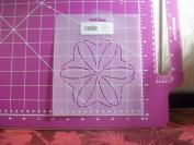 13cm Continuous Block Quilting Stencil