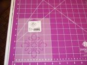 8.9cm Petal Square Quilting Stencil