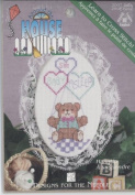 Baby Bear Lace Hang Up Counted Cross Stitch Kit