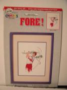 Fore!! By Jackie Wynia cross stitch