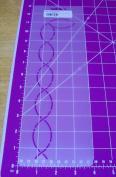 2.5cm Border with Corner Quilting Stencil