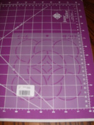 15cm Feather Design Quilting Stencil
