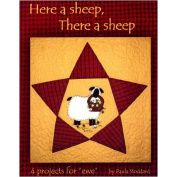 Here a Sheep, There a Sheep, 4 Project Quilt Book