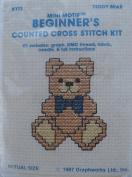 Teddy Bear - Mini Motif Counted Cross Stitch Kit - #AY13