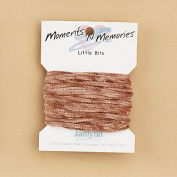 Little Bits Taupe Chenille Memory Fibres - 6 yards -- Moments 'n Memories - #168-0219