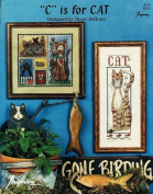 """""""C"""" is for CAT - Counted Cross Stitch Booklet - Diane Arthurs"""