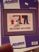 Decisions Decisions Cross Stitch