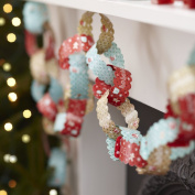 Ginger Ray Vintage Christmas Paper Chain Decorations - Vintage Noel