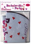 Bachelorette Party Foil Balloons 9pc