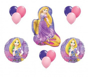 Disney Princess Rapunzel Tangled 12 Piece Balloon Set