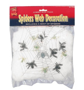 Smiffy's Spider Web Fibre Spiders