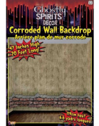 Large 20ft 4ft Haunted House Corroded Wallpaper Wall Border Scene Setter Decal