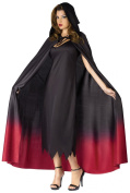 Fun World Ombre Hooded Adult Cape