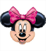 Funny Party Hats ab127 Minnie Mouse Head Super Shape Balloon