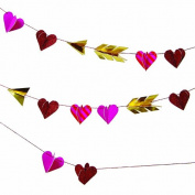 Meri Meri Valentine Hearts Mini Garland